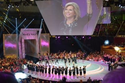 One Woman Can... accomplish anything she sets her mind to! Mary Kay Sapphire Seminar 2013