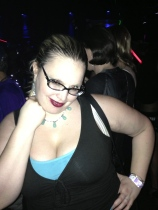 Beth had a blast dancing and flirting with trans-women at Jungle, the largest LGBT club in Atlanta.