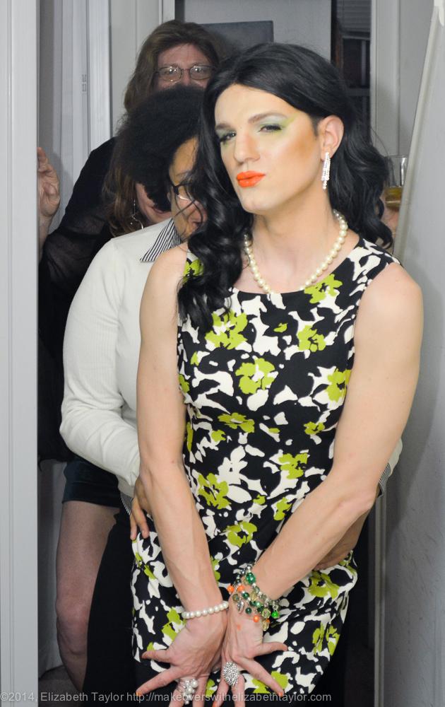 Crossdresser Makeovers With Elizabeth Taylor Page 5