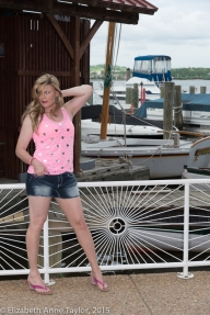 Kimberly is sailing into summer with her teenage dream
