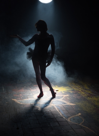 I will embrace my ballerina, my femininity.