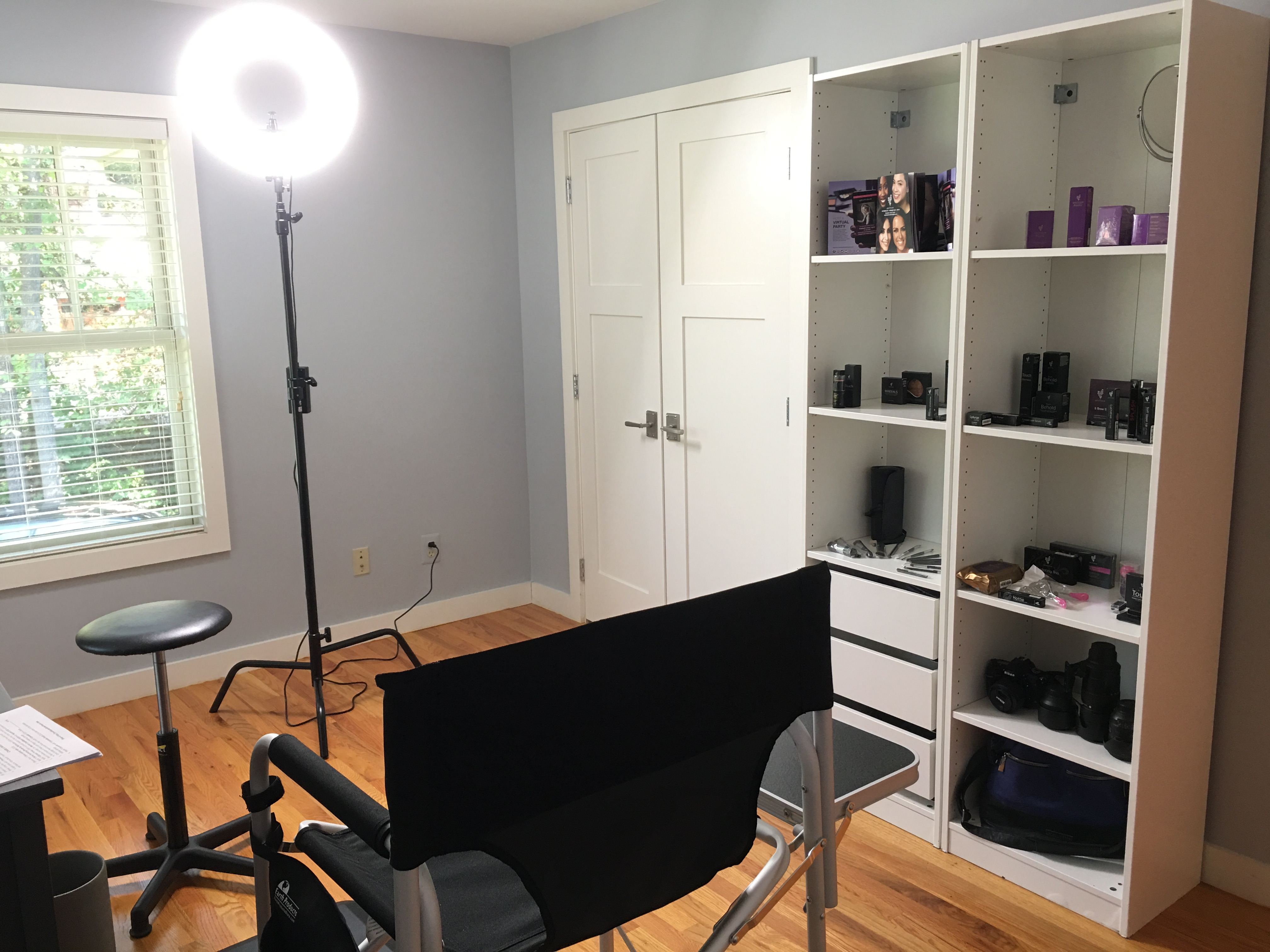 Here Are Photos Of My New Makeup Studio. Watch For My Wardrobe And  Photography Studio Pics In A Later Post.