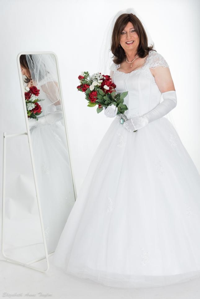 Bride full length image