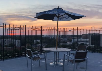 Rooftop Deck Sunset